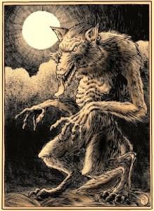 Werewolf, sepia 2