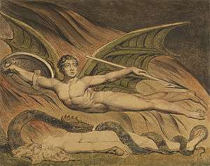 Milton's angels | Open Graves, Open Minds