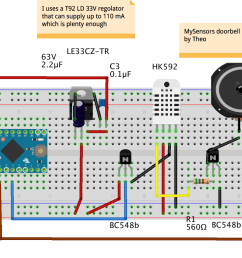 mysensors oldskool electronic components doorbell chime openhardware io enables open source hardware innovation [ 1469 x 788 Pixel ]