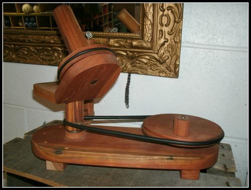 Wooden Yarn Winder Plans