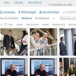 hébergement sharepoint 2013 pour gestion des documents