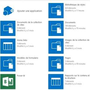 Gestion documentaire sharepoint