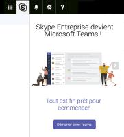 Microsoft migre skype business vers teams