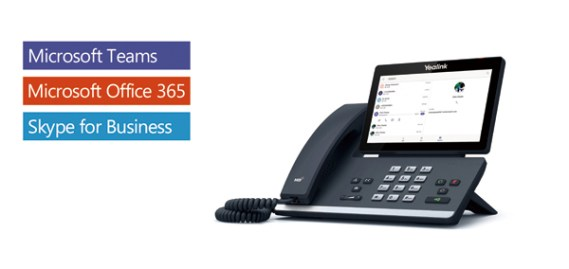 Téléphone IP Yealink Teams Office 365 avec Android app