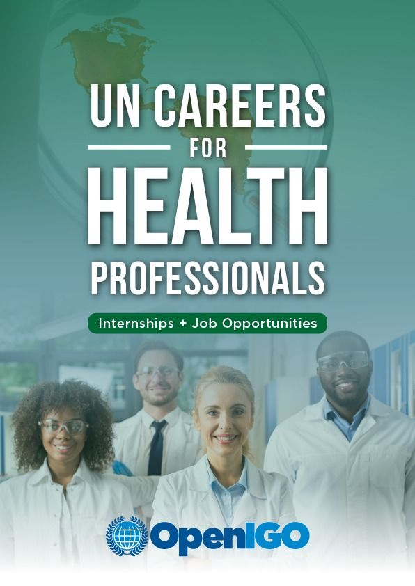 UN Careers for Health Professionals
