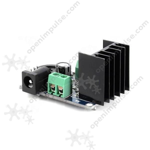 Electronic Circuit Diagram Audio Amplifier An7135 7w