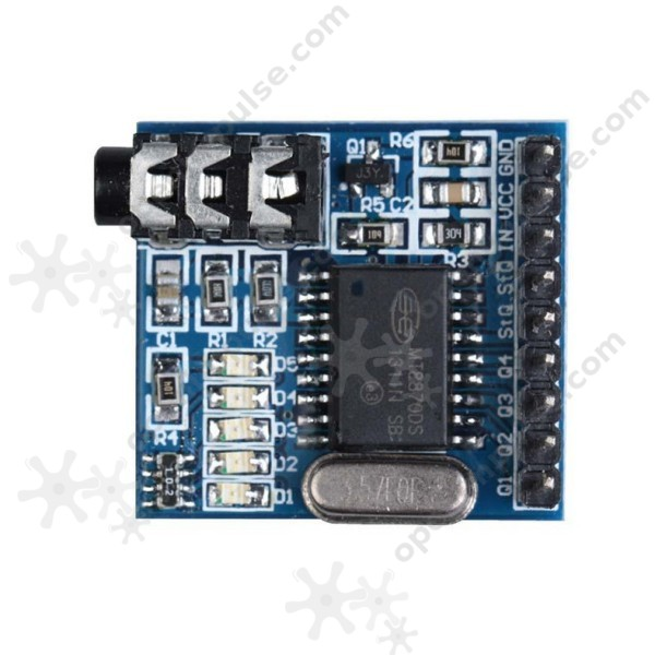dtmf decoder ic mt8870 pin diagram lawn mower engine parts audio module open impulseopen impulse