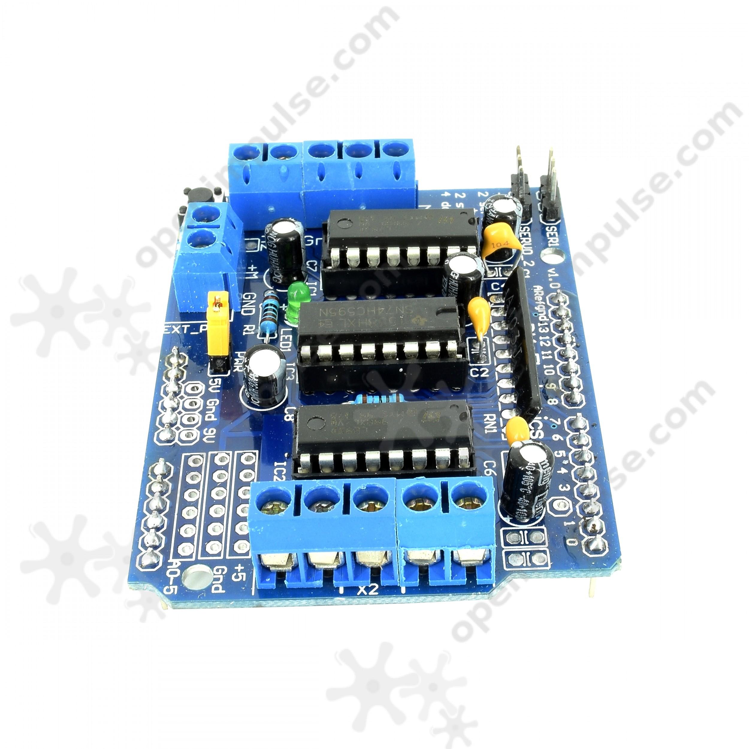 l293d motor driver circuit diagram pioneer deh 1800 wiring drive shield pinout impremedia