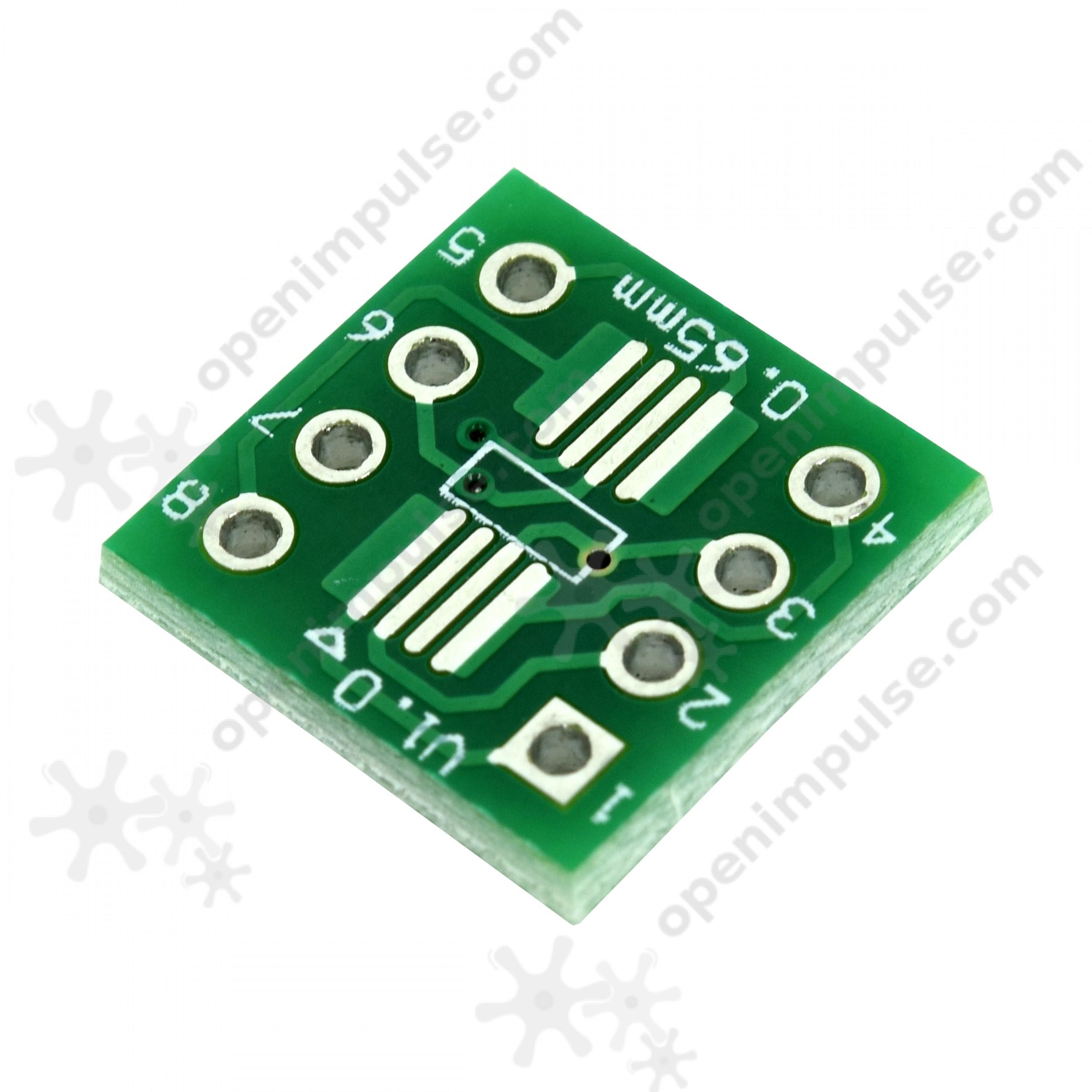 20pcs SOP8SSOP8 SMD to DIP Adapter  Open ImpulseOpen Impulse