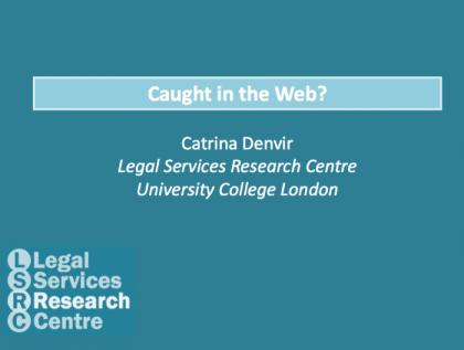 Catrina Denver - Legal Self-Help in the UK