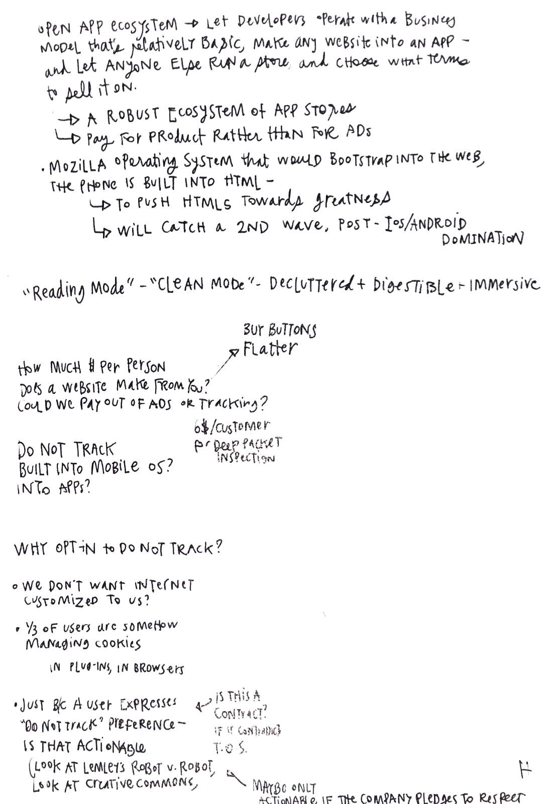 sketchnote on legal design and online privacy 5