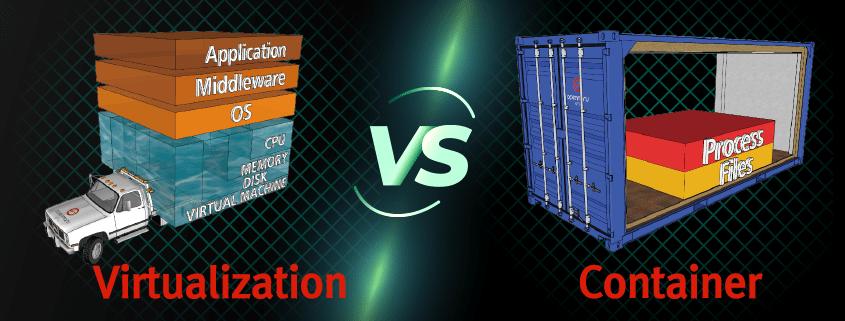 가상화 기술과 컨테이너 기술의 차이점
