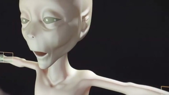 Possible Roswell Alien Photo Revealed in Documentary Alien-Recreation