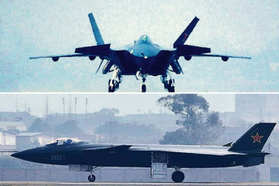 Images of a Chinese stealth fighter first made it into the U.S. media in 2011. (Credit: Washington Post)