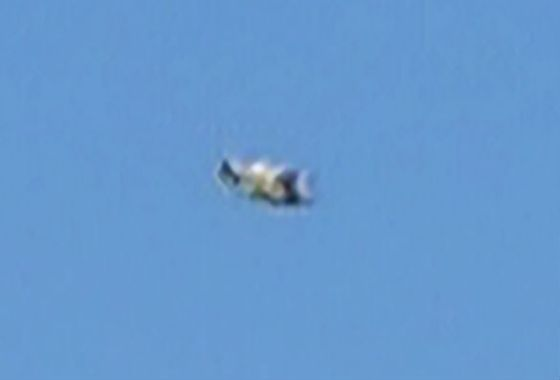 Close-up of object in first picture. (Credit: MUFON)