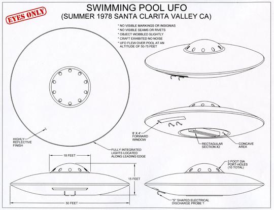 UFO hovers over home in Santa Clarita Valley, CA