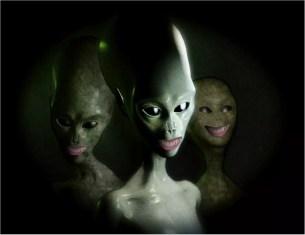 smily aliens