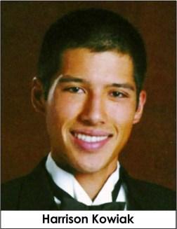 Harrison Kowiak, killed in a hazing incident