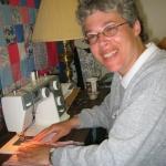 Odette sewing 2 - 2005