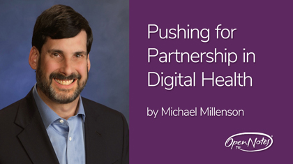 Pushing for Partnership in Digital Health