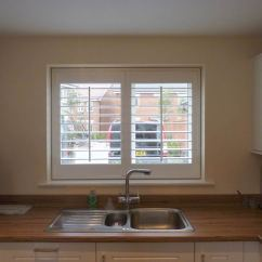 Kitchen Window Shutters Contemporary Cabinets Faux Plantation Opennshut