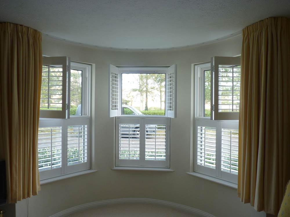 Interior window shutters design options  opennshut