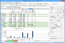tampilan layar Calc