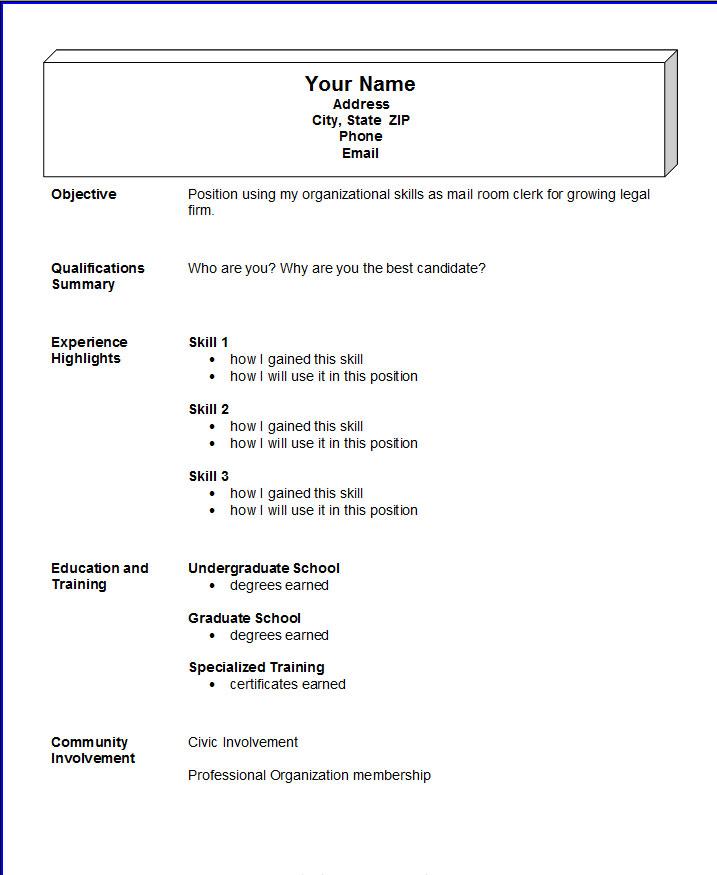 clean resume template reddit