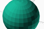 Thumbnail for the post titled: sphere()