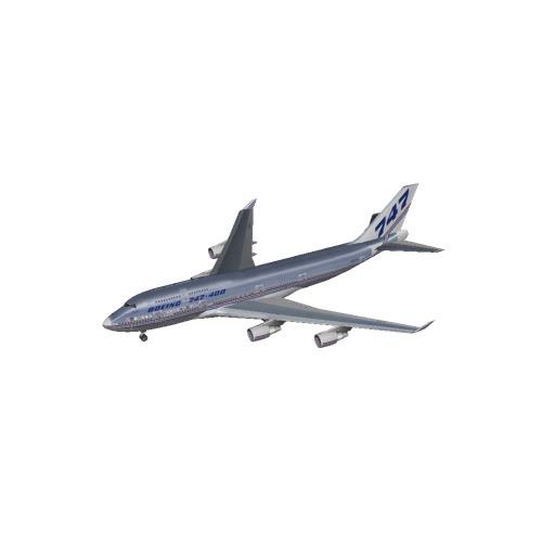 » B747-400 Boeing House