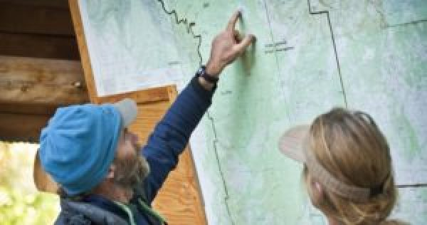 At Open Sky Wilderness Therapy, safety is a priority when planning and mapping expeditions.