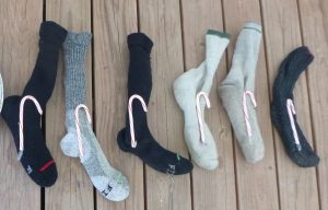 """stockings"" and candy canes are a tradition for celebrating holidays in wilderness at Open Sky"