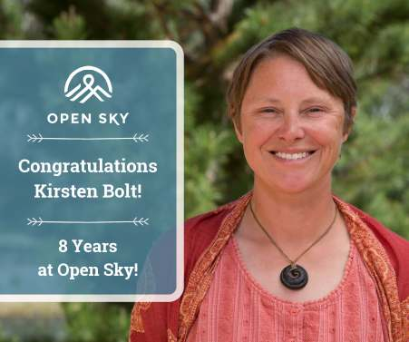 Adolescent girls therapist Kirsten Bolt celebrates 8 years at Open Sky