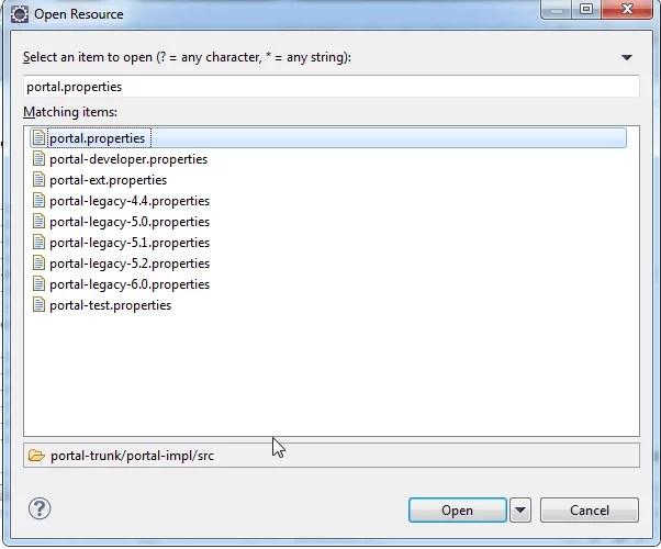 Portal Properties and Portal-ext Properties in Liferay - Open_Portal.properties