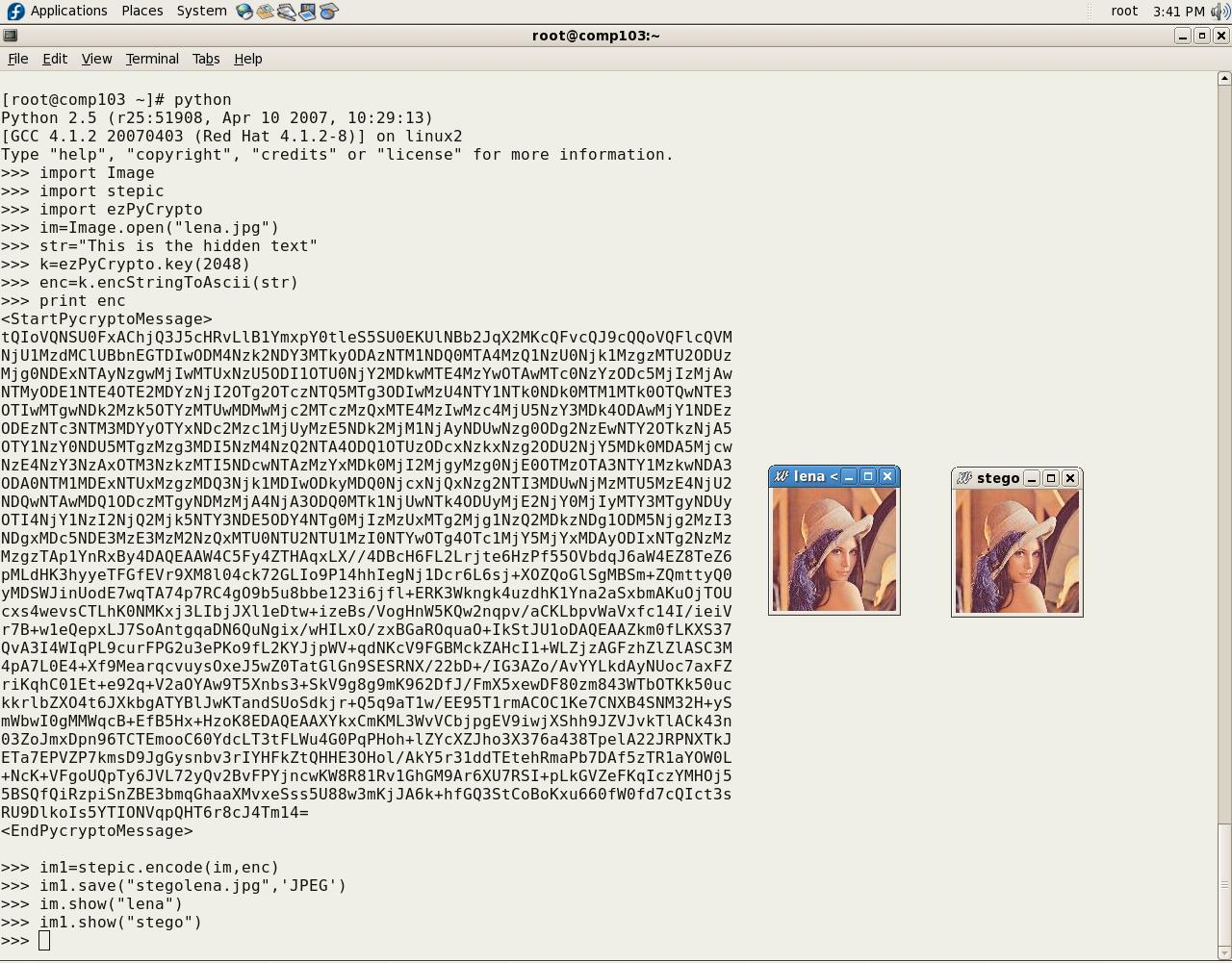 Cryptography and Steganography with Python - Open Source For You