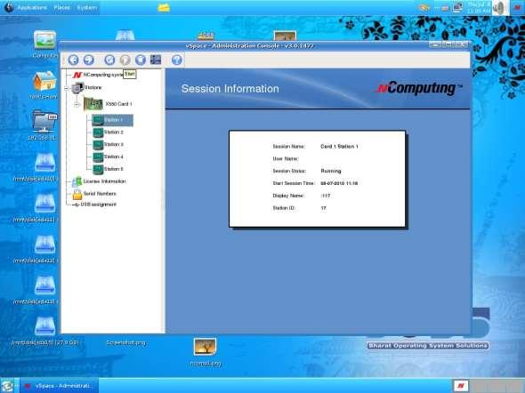 NComputing console