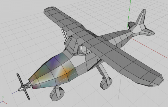 The final design of the airplane