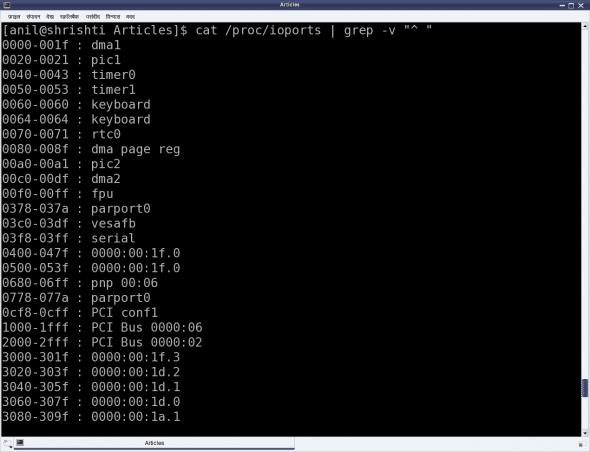 x86-specific I/O ports
