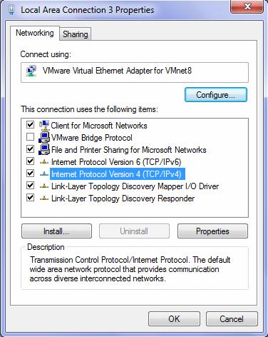 Windows Adapter Setting
