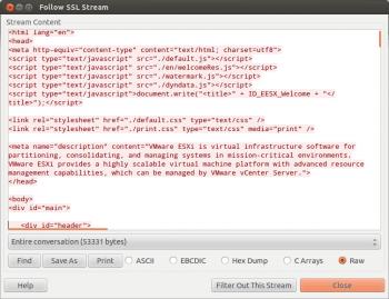 Screenshot3 Follow SSL Stream