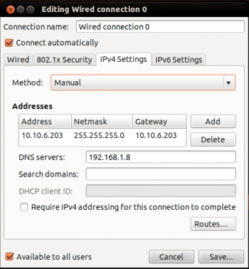 How to Configure Ubuntu as a Router