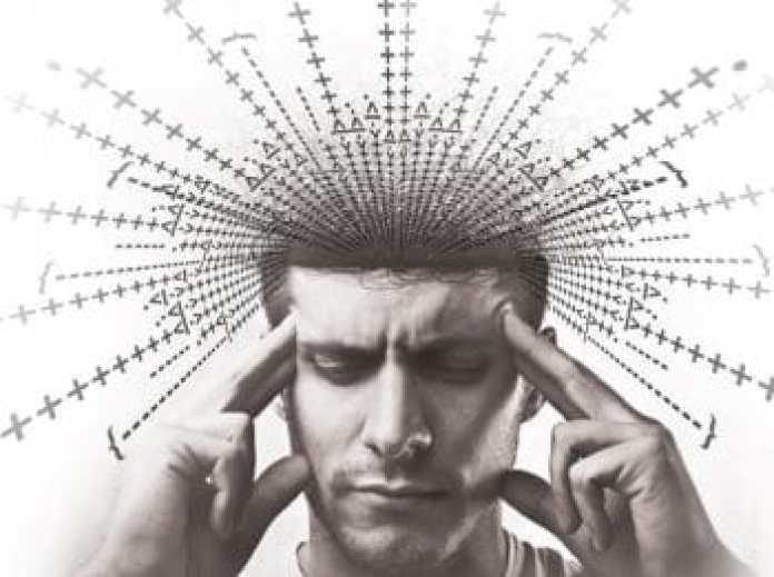 man thought exotic programming in his mind