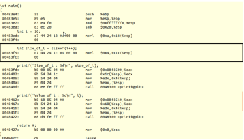 Fig-4_ Assembly code generated by the compiler for code-3.