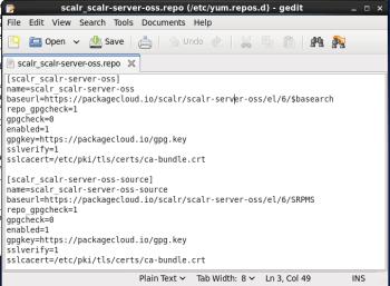Figure 6 Scalr Repo File