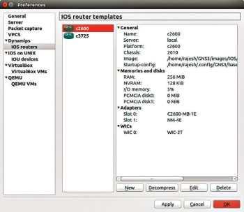 4 IOS router templates