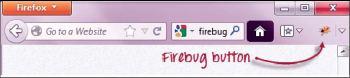 Figure 3: Firebug icon