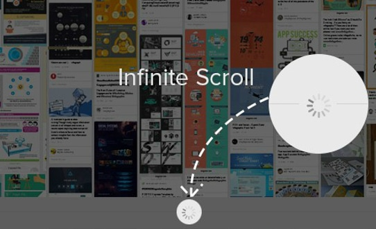 Infinite scroll