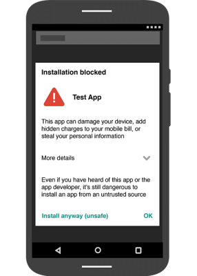Verify Apps to detect and remove harmful Android apps