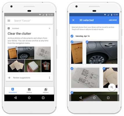 Google Photos AI archive