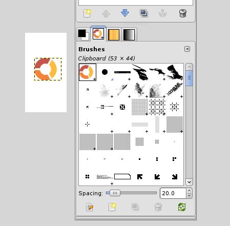 Figure 10: Creating a brush